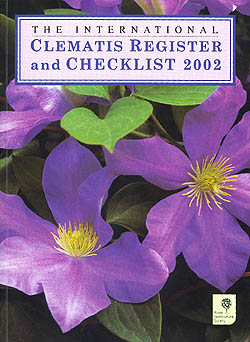 The International Clematis Register and Checklist 2002.